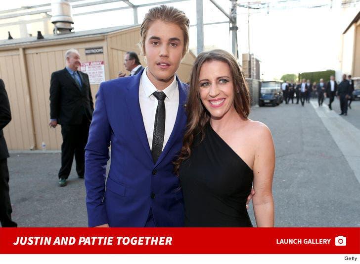 Justin Bieber and Pattie Mallette Together