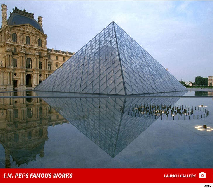 I.M. Pei's Famous Works
