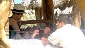 Sharon Osbourne -- Heels In Mexico