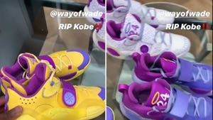 Dwyane Wade Pays Tribute To Kobe Bryant With New Sneakers