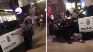 Minneapolis Cop Knocked Down After Garbage Can Lid Thrown At Him