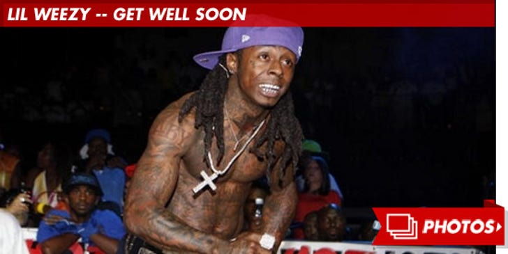 Lil Weezy -- Get Well Soon
