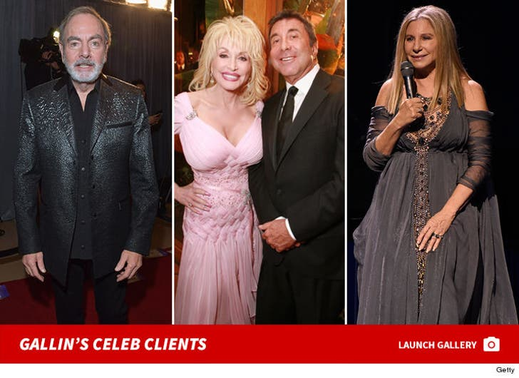 Sandy Gallin's Celeb Clients