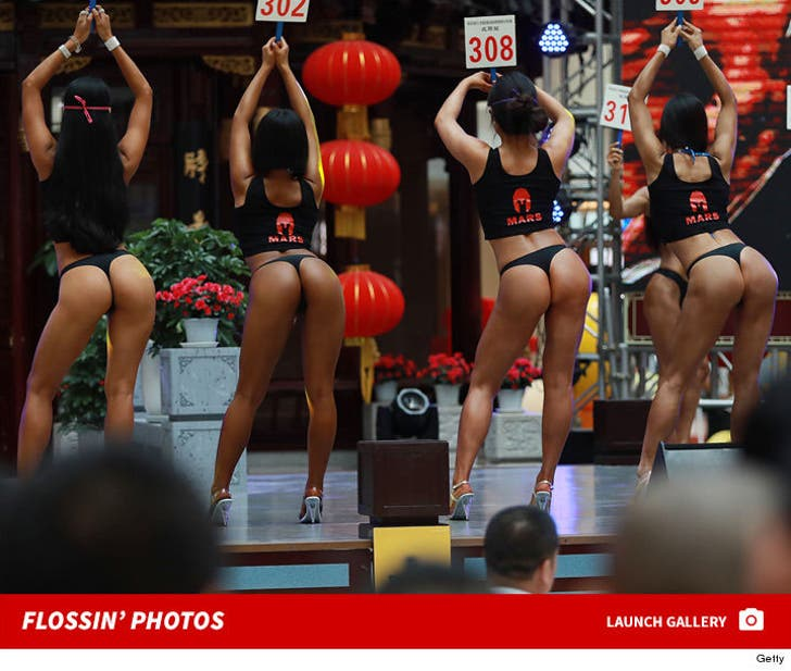 The Women's Beautiful Buttock Contest in China