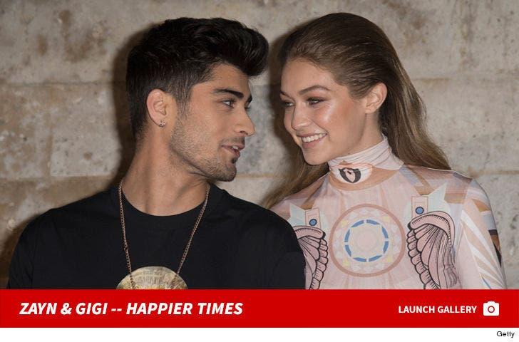 Gigi Hadid and Zayn Malik -- Together Photos