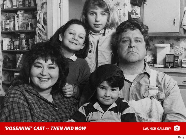 'Roseanne' Cast -- Then And Now