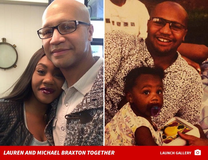 Lauren and Michael Braxton Together