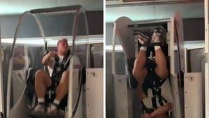 Christian McCaffrey Violently Spins In $200k Machine For NFL Training