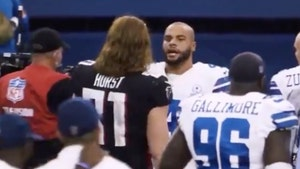 Dak Prescott's Meeting W/ Falcons Star Over Suicide Prevention Caught On Video