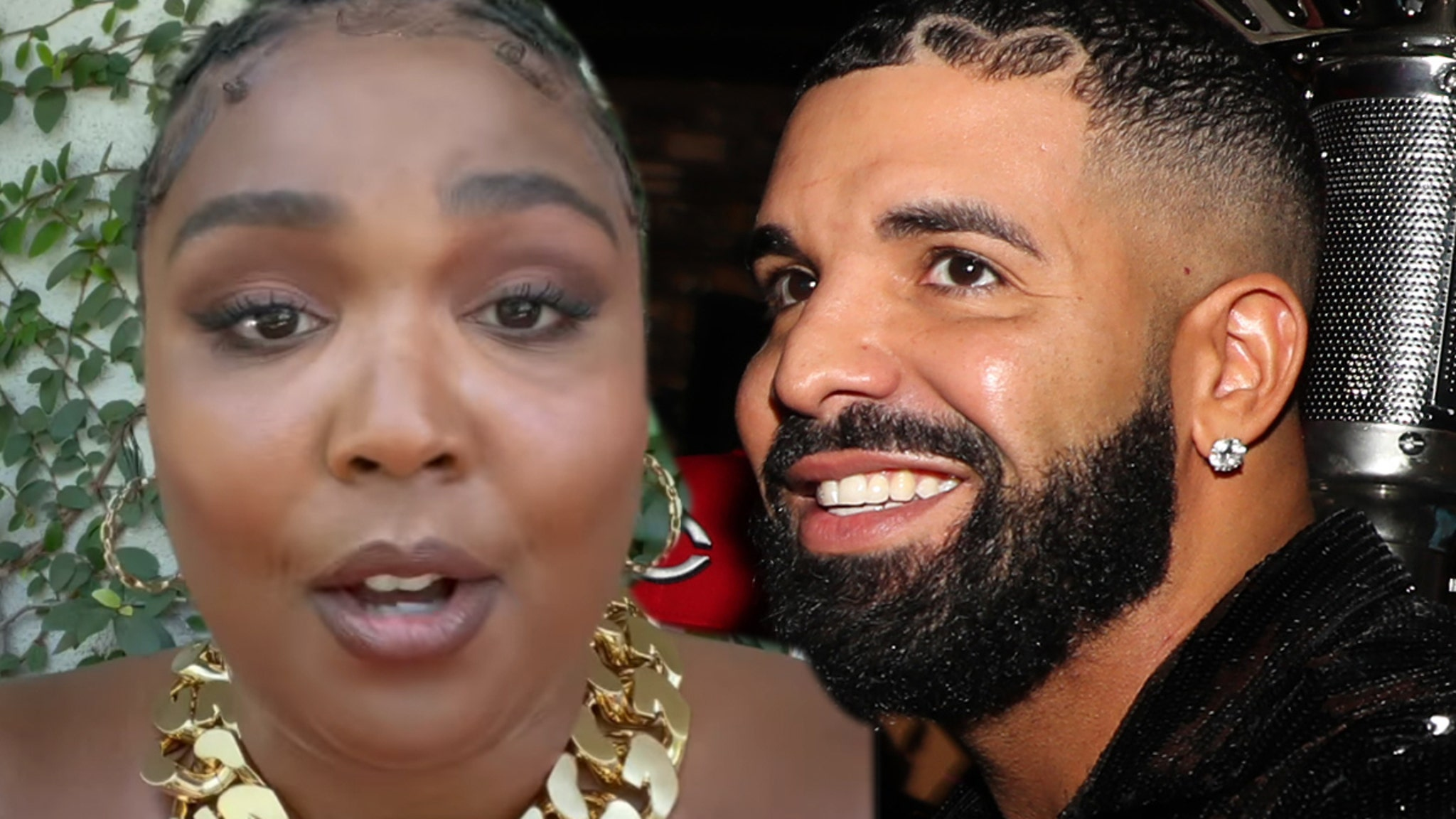 Lizzo Trying to Manifest Banging Drake After New Song Name-Drop thumbnail