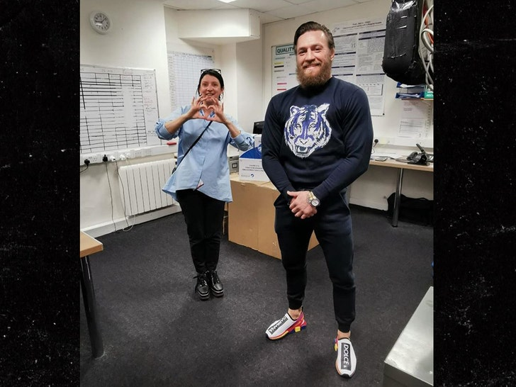 Conor McGregor Hand Delivers Supplies To Dublin Children's Hospital 3