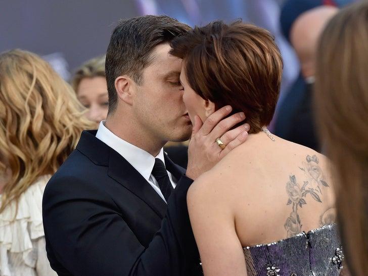 Scarlett Johansson and Colin Jost -- The Happy Couple