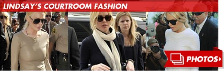 Lindsay's Courtroom Fashion!