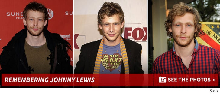 Johnny Lewis Photos