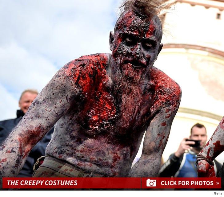 Creepy Photos from German Zombie Walk -- Ze Walking Dead!