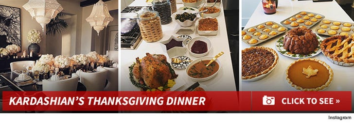 Thanksgiving Dinner with The Kardashian's