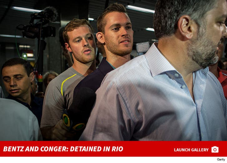 Gunnar Bentz and Jack Conger -- Detained in Rio