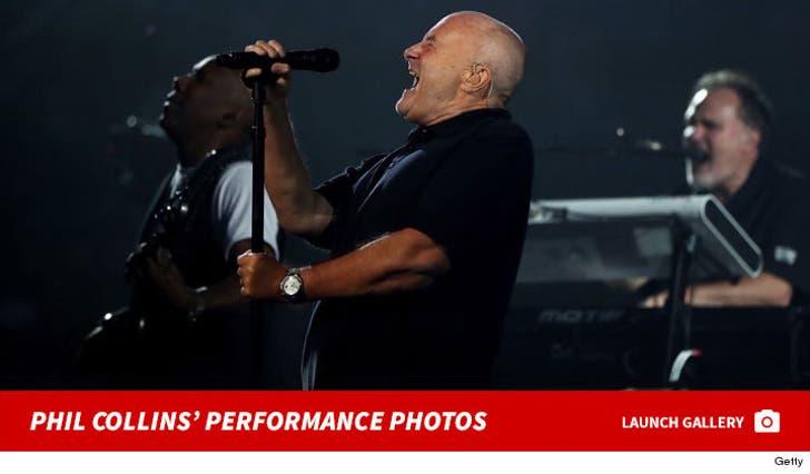 Phil Collins -- Performance Photos
