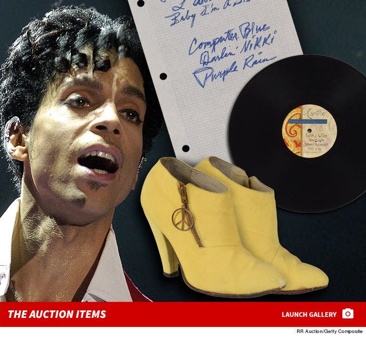 Prince Auction Items -- For $ale!