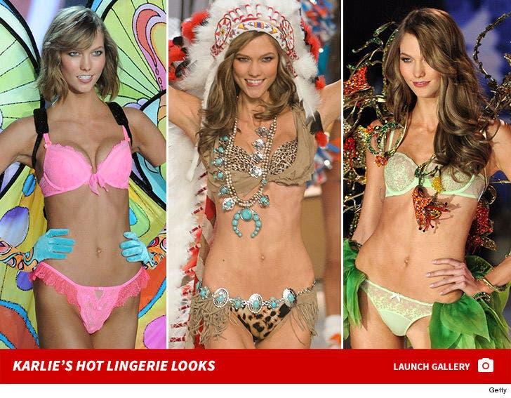 Karlie Kloss -- Hot Lingerie Looks