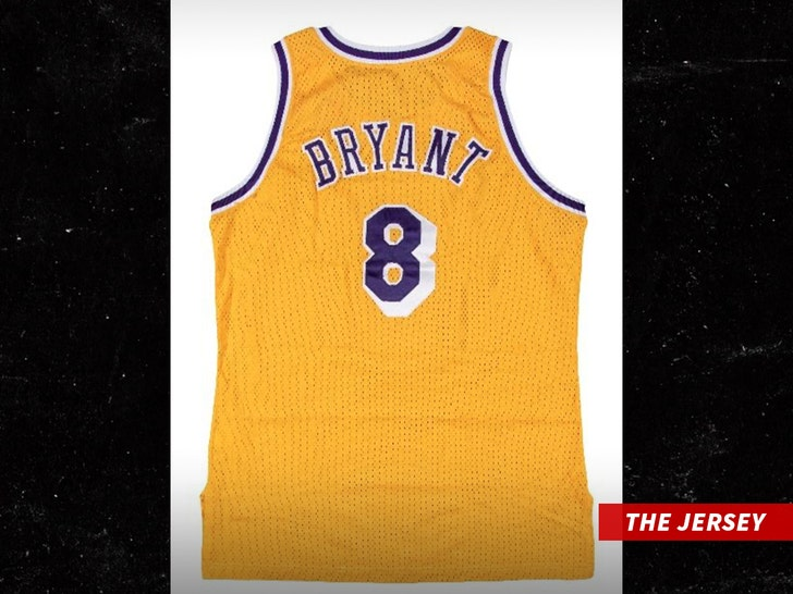 Kobe Bryant's Lakers Rookie Jersey Hits Auction Block, Could Break ...