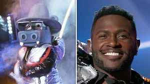 Antonio Brown Axed From 'Masked Singer' After Bobby Brown Song