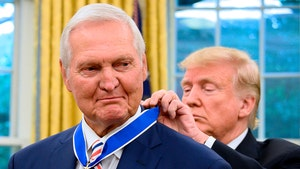 Donald Trump Presents Jerry West With Medal of Freedom