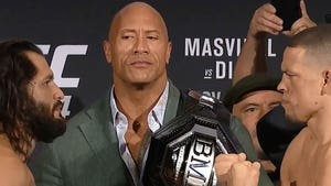 'The Rock' Goes Crazy Over UFC's 'BMF' Belt at Diaz vs. Masvidal Event