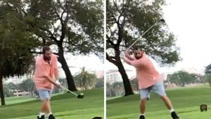 Adam Sandler Recreates Iconic 'Happy Gilmore' Drive On Movie's Anniversary