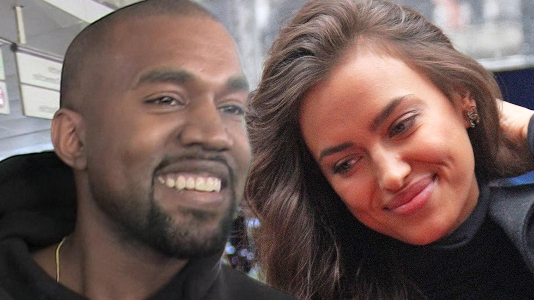 Kanye West Rebounds with Supermodel Irina Shayk, in France thumbnail