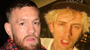 Conor McGregor Says There's No Beef w/ MGK, Invites Him to Next Fight