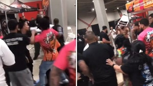 Haymakers & Chairs Thrown In Crazy Brawl At Miami Dog Show, Wild Video!