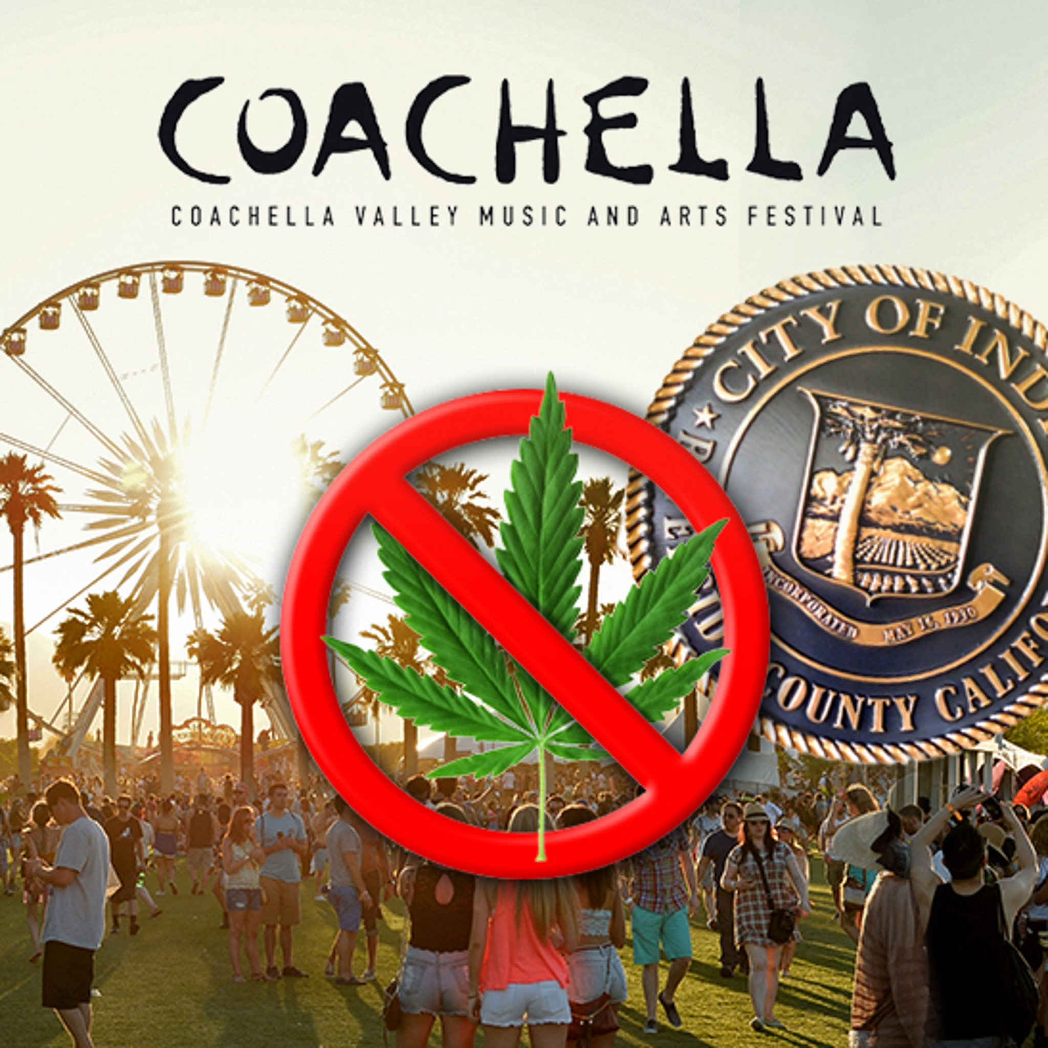 Coachella Not Changed by CA Marijuana Law, Still No Smoking