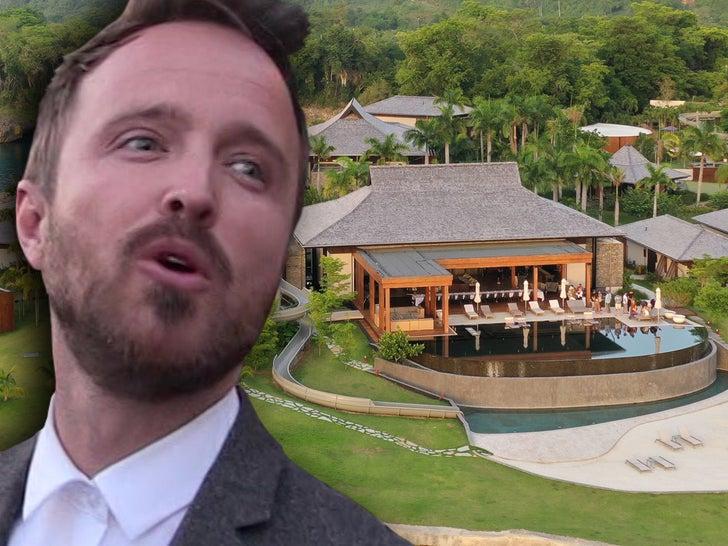 Aaron Paul Celebrates His Bday at Ani Resort