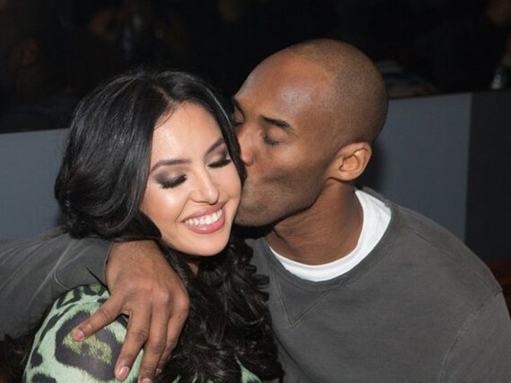 Kobe and Vanessa Bryant Together