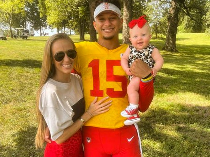 Patrick Mahomes wife and baby