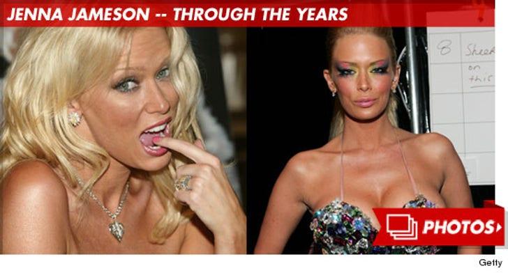 Jenna Jameson -- Through the Years!