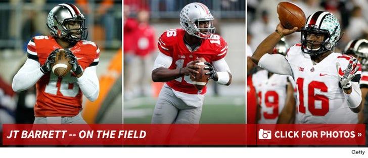JT Barrett -- On The Field