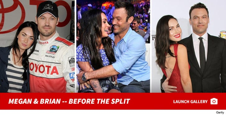 Megan Fox & Brian Austin Green -- Before the Split
