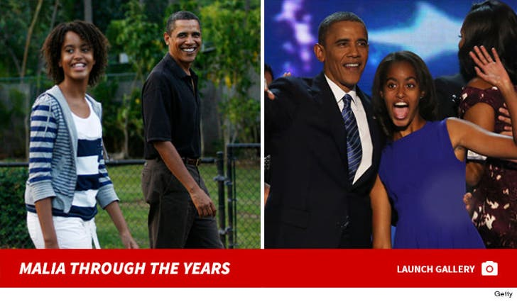 Malia Obama -- Through The Years