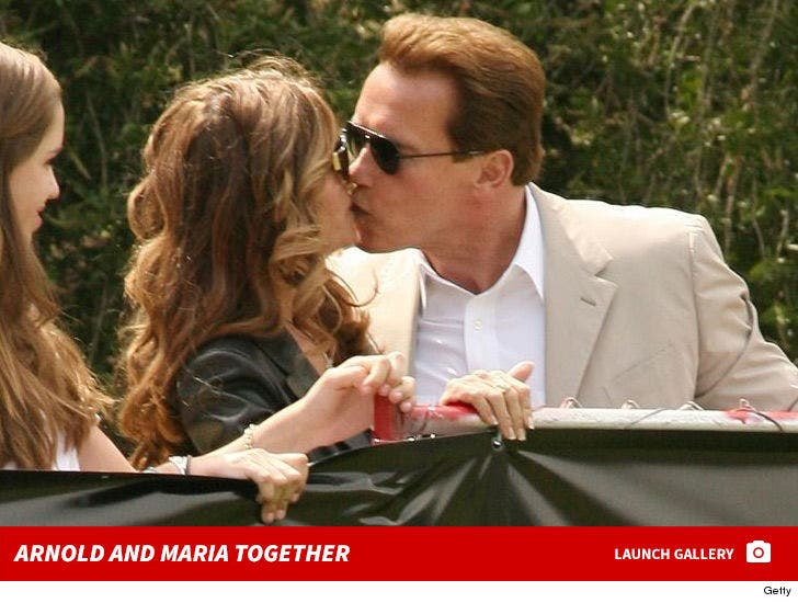 Arnold Schwarzenegger and Maria Shriver Together