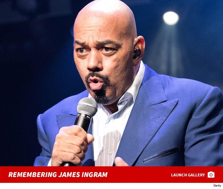Remembering James Ingram