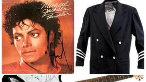 Jackson Memorabilia Auction -- I'll Trade Ya!