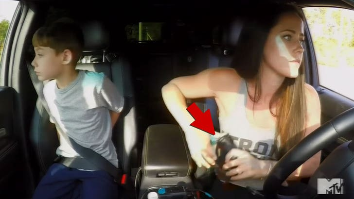 Teen Mom' Star Jenelle Evans Goes for Her Gun in Road Rage