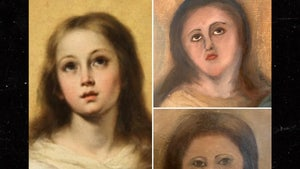 Immaculate Conception Painting Horrifically Botched by Amateur Restoration