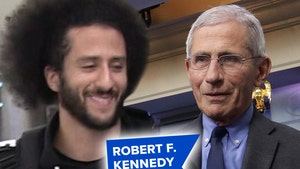 Dr. Anthony Fauci, Kaepernick to Be Honored By RFK Human Rights Org.