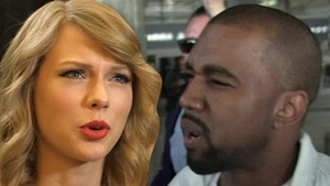 Kanye West Throws Shade at Taylor Swift and Possibly Kim Kardashian with Snake Photo