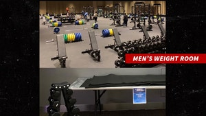 NCAA Rep Vows To Fix Women's Tourney Weight Room, 'We Fell Short'