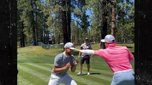 Steph Curry Gets Sparring Rematch With Canelo on Golf Course, Loses Again!