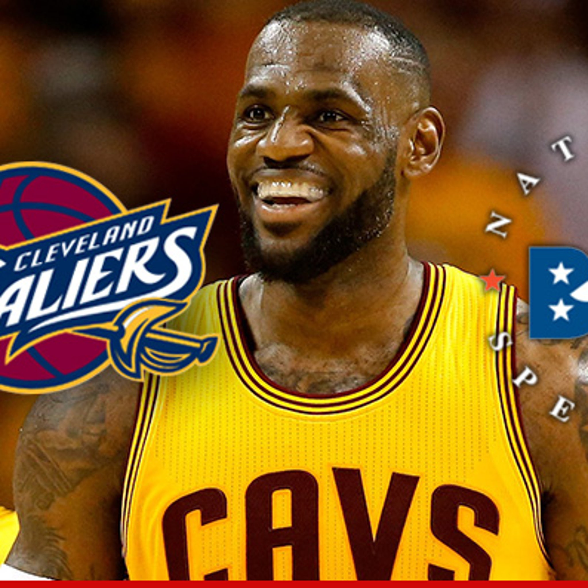 free shipping 09619 b4f61 Lebron James -- All Hail The Spelling King ... Sends Swag To ...